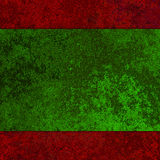 Red and green metal texture Stock Photo