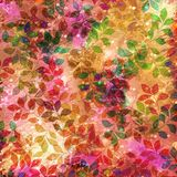 Red/ Green mottled background Stock Photography