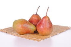 Red and green pears Royalty Free Stock Image