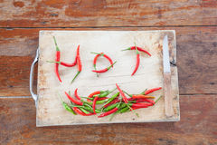 Red and green peper Stock Photo