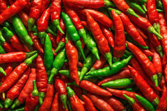 Red Green Pepper Royalty Free Stock Photos