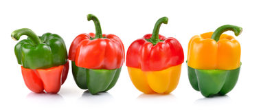 Red and green pepper Royalty Free Stock Photo