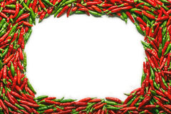 Red Green Pepper Stock Photography