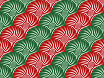 Red and Green Peppermint Background Royalty Free Stock Photo