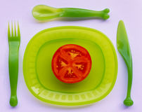 Red and Green Royalty Free Stock Photos