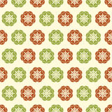 Red green retro Stock Image