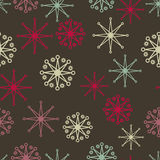 Red green stars Stock Image