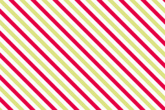 Red-green stripes on white background Stock Photography