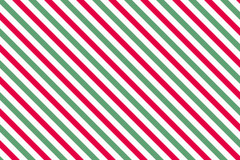 Red-green stripes on white background Stock Images