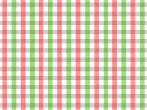 Red and Green Tablecloth Seamless Gingham Pattern. Two Color Design royalty free illustration