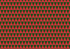 Red and green triangle pattern Royalty Free Stock Images