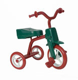 Red and Green Tricycle Royalty Free Stock Photography