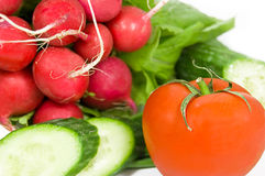 Red and green vegetable Royalty Free Stock Photo