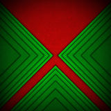 Red and Green Velvet Abstract Background Royalty Free Stock Photos