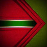 Red and Green Velvet Abstract Background Stock Photo