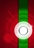 Red and Green Velvet Abstract Background Royalty Free Stock Images