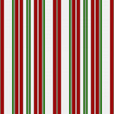 Red, Green and White Striped Fabric Background Royalty Free Stock Image