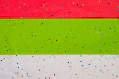 Red, Green and White Tissue Paper Background Stock Photos