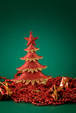 Red and green xmas Royalty Free Stock Photo