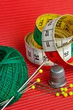 Red, green, yellow still-life Royalty Free Stock Photos