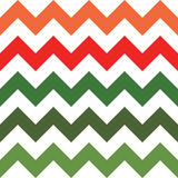 Red and Green Zigzag Pattern Stock Images