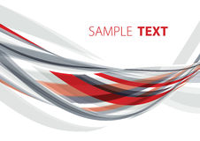 Red and grey abstraction Royalty Free Stock Photos