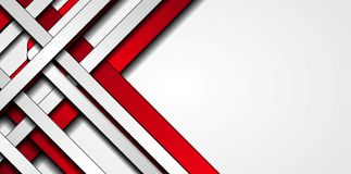 Red and grey stripes abstract tech background. Red and grey contrast stripes abstract tech background. Vector illustration vector illustration