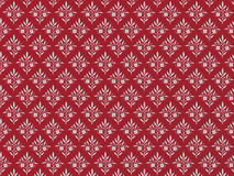 Red and grey floral background. Royalty Free Stock Images
