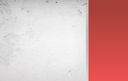 Red and grey grunge background Stock Photography