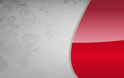 Red and grey grunge background Royalty Free Stock Image