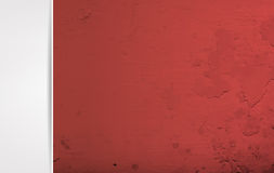 Red and grey grunge background Royalty Free Stock Photo