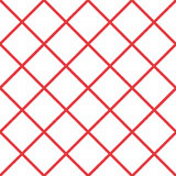Red Grid White Chess Board Diamond Background Vector Stock Images