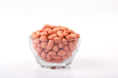 Red groundnuts Royalty Free Stock Images