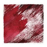 Red grunge abstract background Royalty Free Stock Photography