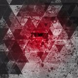 Red grunge abstract background Royalty Free Stock Photos