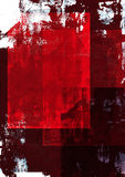 Red grunge background Royalty Free Stock Images