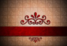 Red grunge background Royalty Free Stock Photography