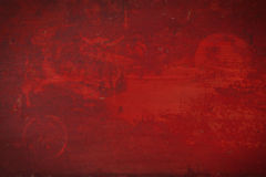Red grunge background. stock image