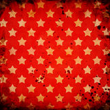 Red grunge background Stock Images