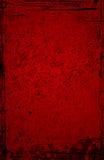 Red Grunge Background stock illustration