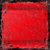Red grunge background. Abstract Stock Photo