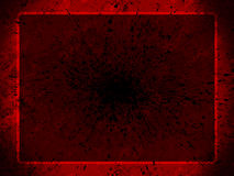 Red grunge background for pres Stock Images