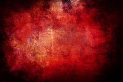 red grunge background Stock Photography