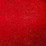 Red grunge background. Vector rusty texture. Stock Image