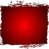 Red Grunge Border Royalty Free Stock Images