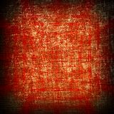 Red grunge canvas Royalty Free Stock Images