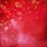 Red grunge christmas background Stock Photography