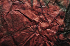 Red grunge creased texture Royalty Free Stock Images