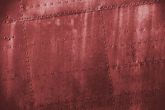 Red grunge dirt metal texture Royalty Free Stock Image