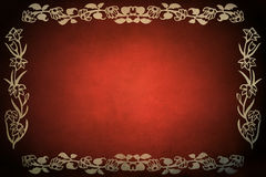Red Grunge Frame Royalty Free Stock Photos